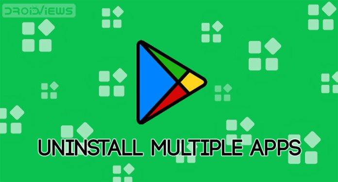 uninstall google play apps