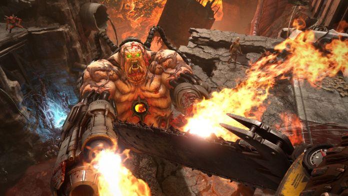 Doom Eternal - urban assault