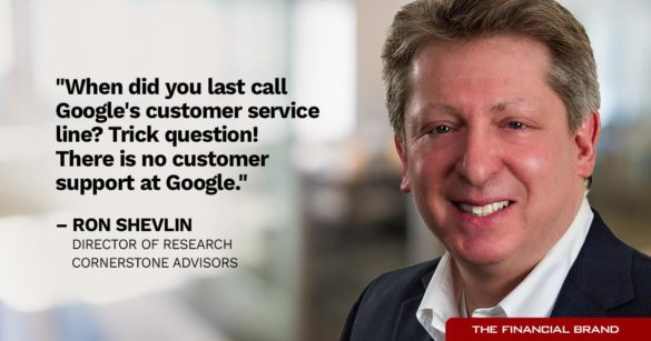 Ron Shelvin customer service line quote