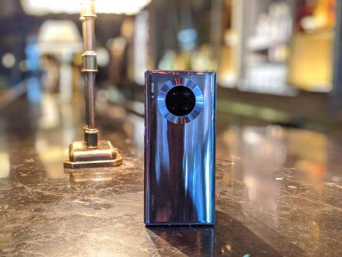The Huawei Mate 30 Pro.