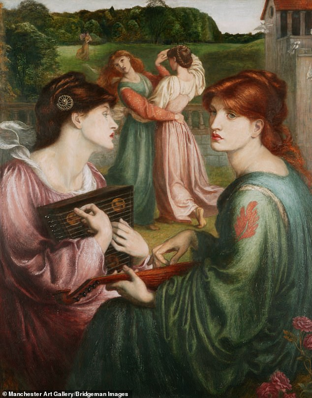 Jan Marsh's seminal work has been reissued marking the National Portrait Gallery's show dedicated to the female Pre-Raphaelites. Above: The Bower Meadow by DG Rossetti