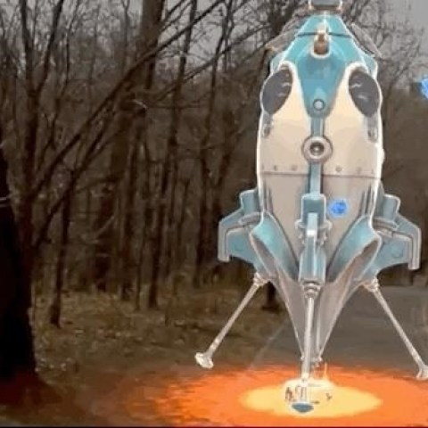 Hands-On: Launching Space Rockets in New York's Central Park via Magic Leap's Boosters App