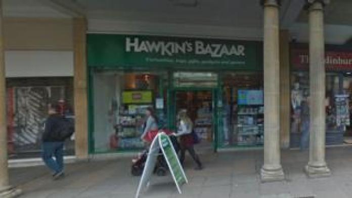 Hawkin's Bazaar, Stall Street, Bath