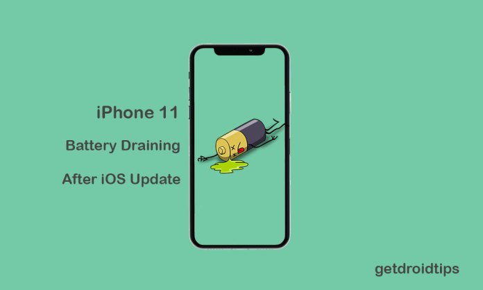 How to fix iPhone 11 battery draining problem after new iOS update