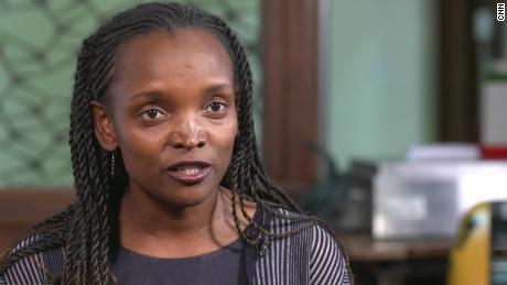 Mary Mwangi, CEO of Nairobi-based tech company Data Integrated.