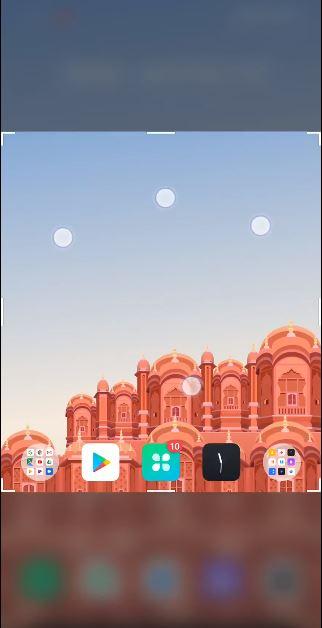 realme ui partial screenshot