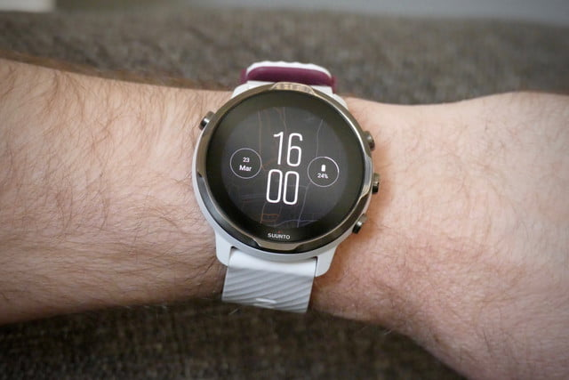 suunto 7 smartwatch review  trashed heat face