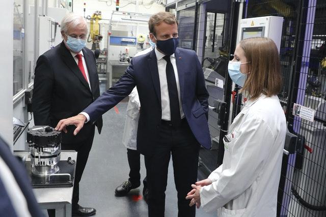 Virus Outbreak France Auto Industry