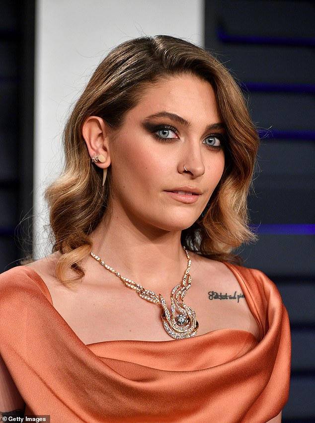 Paris Jackson, 22 (pictured in 2019), was just 11-years old when Michael died in 2009