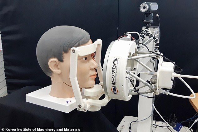 Researchers hope this robot will allow healthcare workers to keep a safe distance will administrating the coronavirus test
