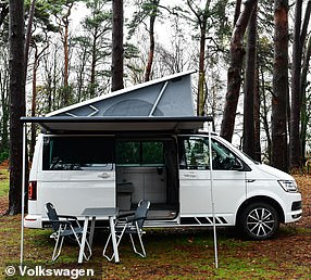 The VW California is one of the only ready-made campervans on the market, so demand is high here too