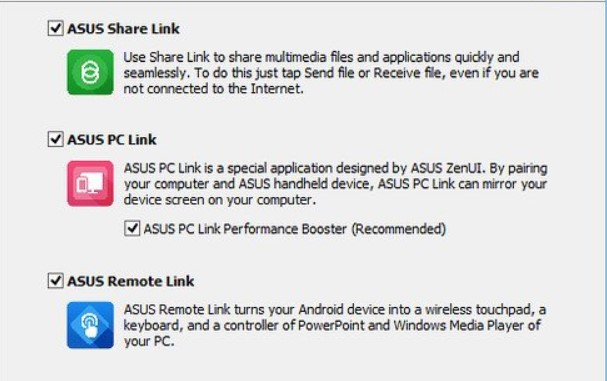 asus extra features