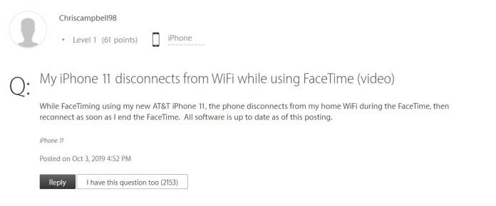 facetime lte wifi forum
