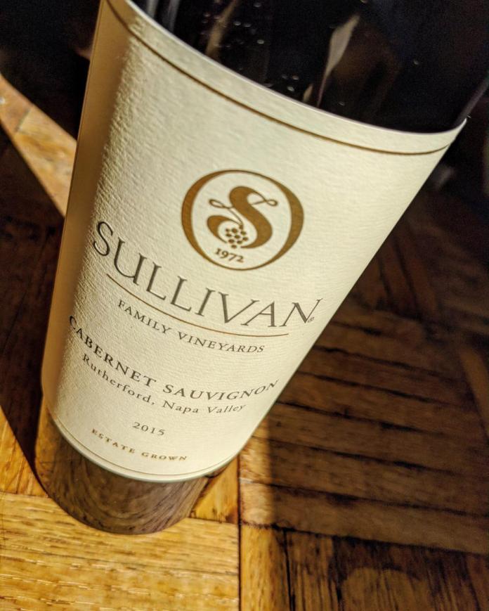 2015 Sullivan Rutherford Estate Cabernet Sauvignon, Napa Valley