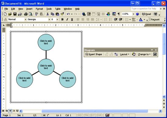 Explore a selection of diagram templates for flow charts, hierarchies, processes, and accompanying graphics to show connections in your presentations. Create Sophisticated Professional Diagrams In Microsoft Word Techrepublic