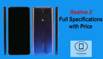 Realme X Master Edition Full Review, Specs and Price