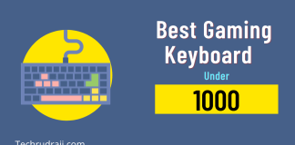 Best Gaming keyboard Under 1000
