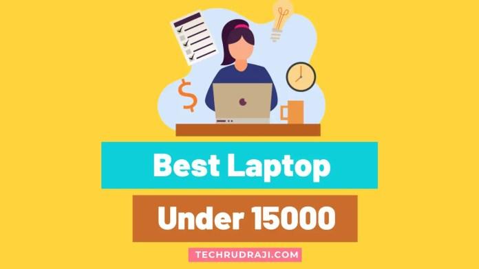 best laptop under 15000