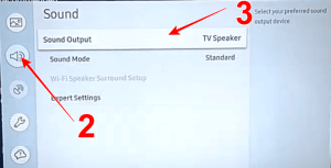 how to enable bluetooth on samsung smart tv