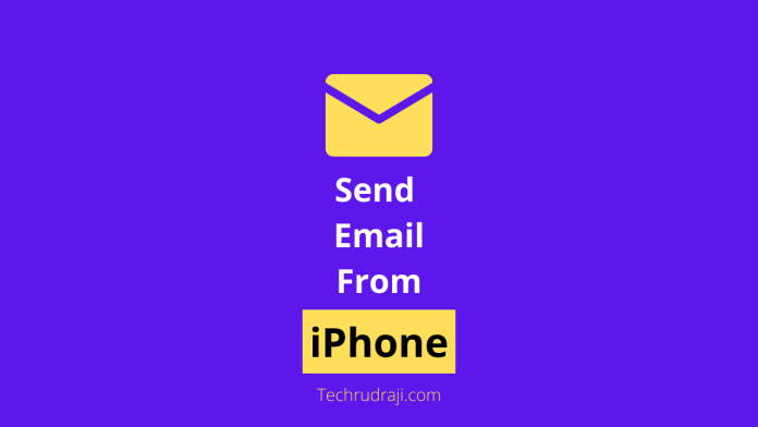how do i send an email from my iphone