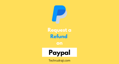 how to request a refund on paypal