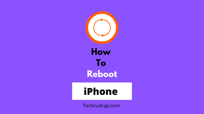 how to reboot iphone 12 pro max