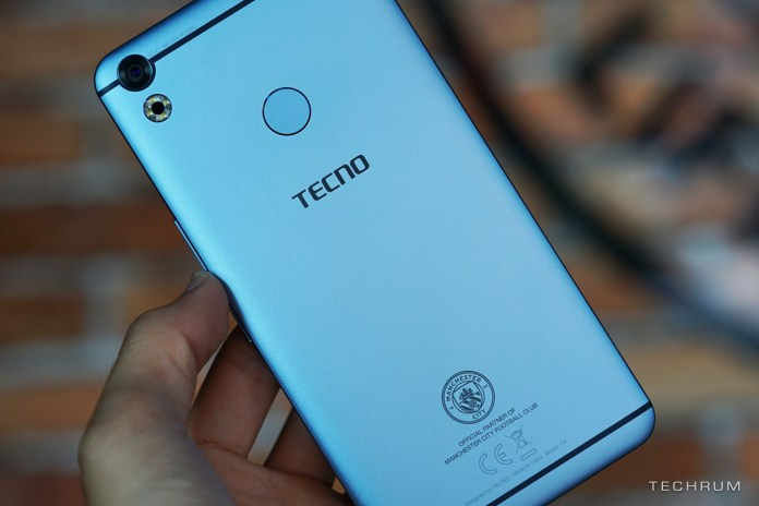 TECNO Camon CX Manchester City Edition Specifications