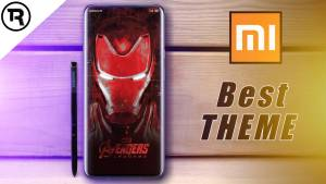 Avengers Endgame MiUi 10 Themes by techrushi.com