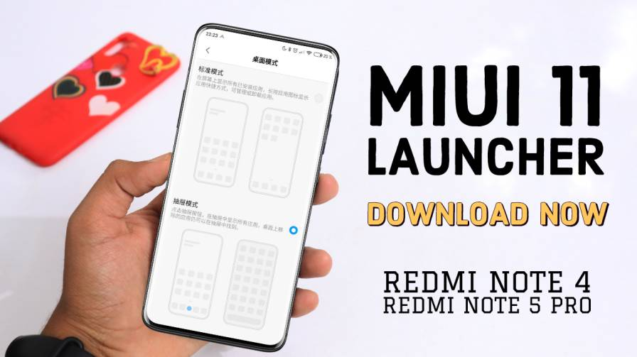 Download MiUi 11 Launcher