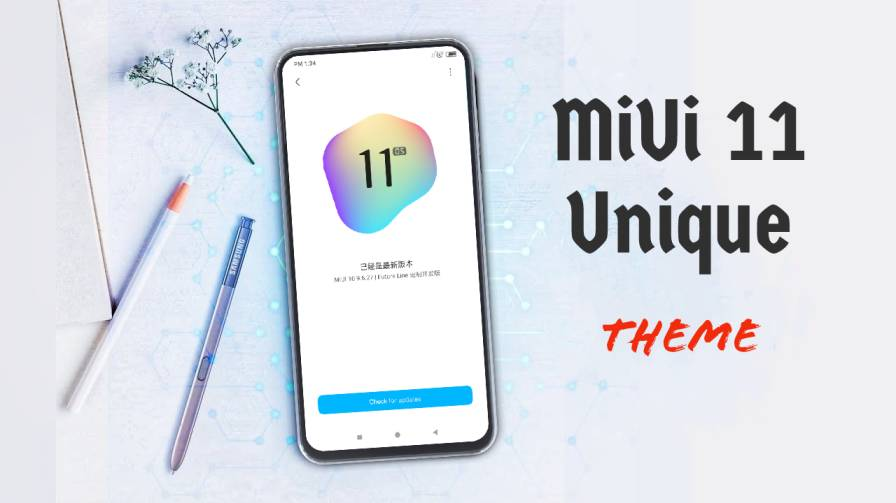 MSimply MIUI 10 Theme Download For Xiaomi Device