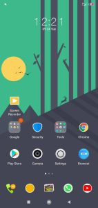 Cool minimal_DWM19 xiaomi themes homesccreen on techrushi