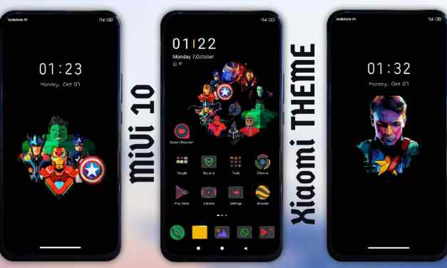 Avengers 2.0 MiUi themes for xiaomi device