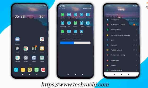 Sunset on the rock v11 Xiaomi THEME | MiUi 11 Fully Supported Theme