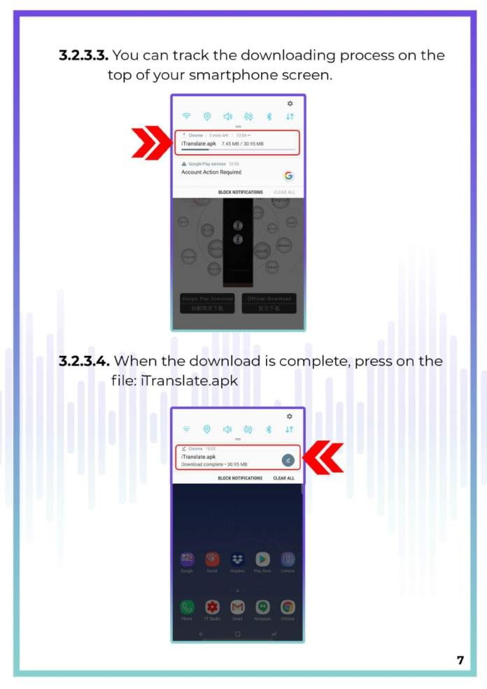 Instant Voice Translator User Manual 8