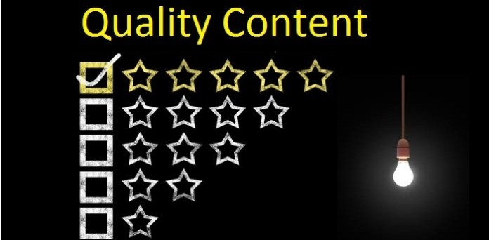 Quality Content- on-page seo