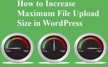 Maximum File Upload Size in WordPress
