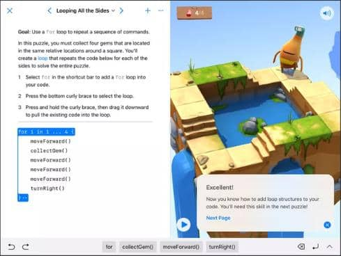 Apple's Swift Playgrounds app is now available for Mac