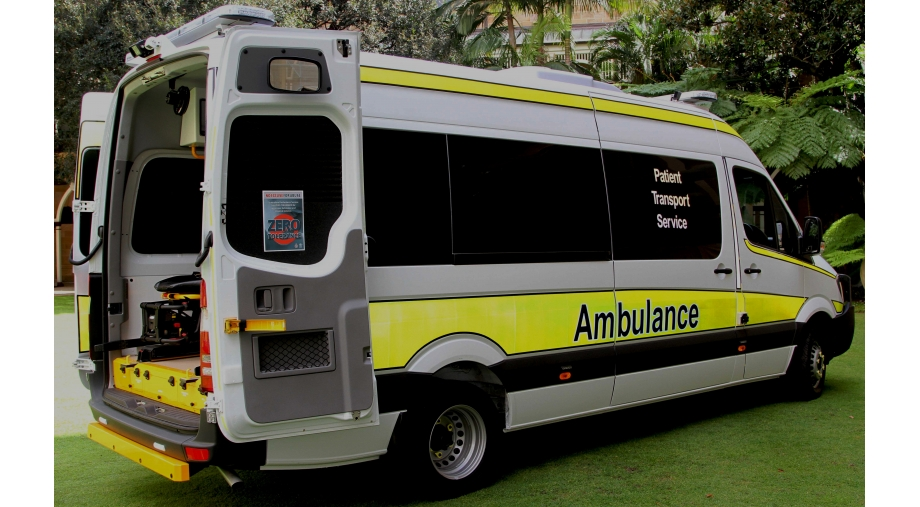 Queensland Ambulance Service PTS Twin Stretcher 30 Vehicle Build   Techsafe Automotive & Transport Seating Solutions