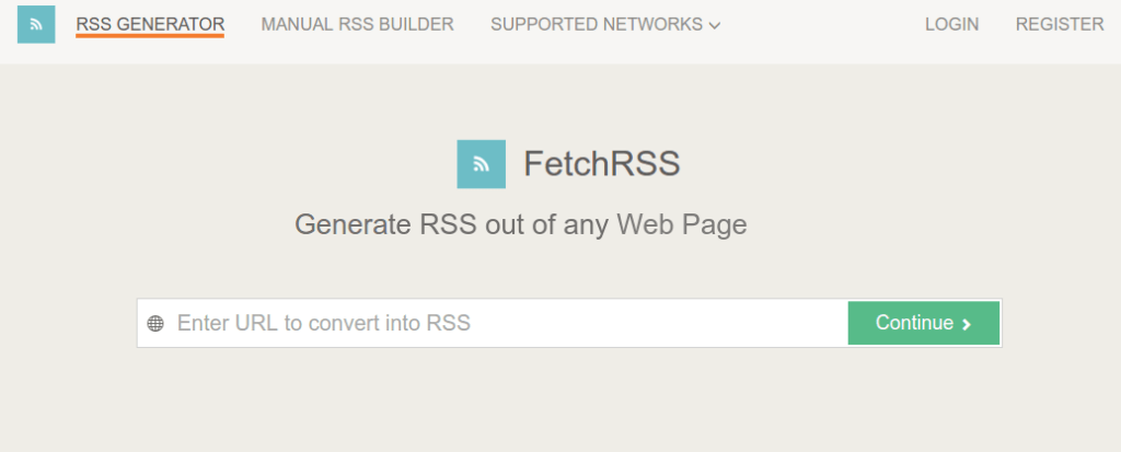 Top 5 RSS Feed Generator Tools For Websites - TechSagar
