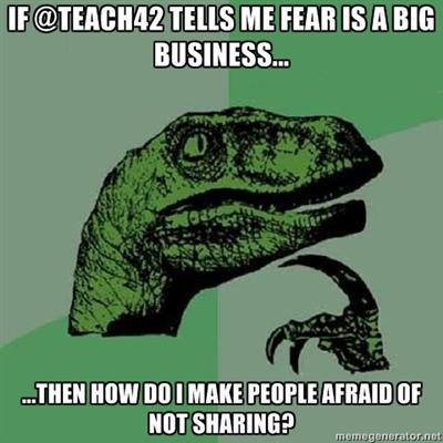 philosoraptor ponders fear