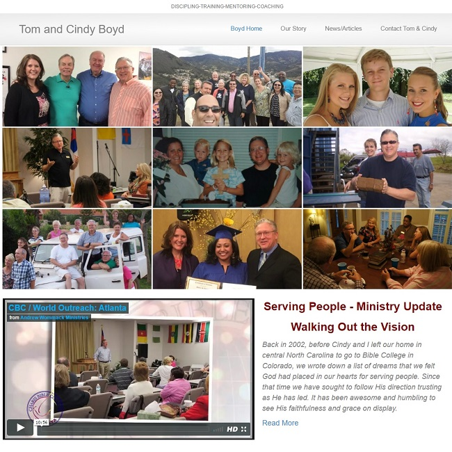 Missionary Website