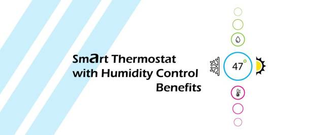 Smart thermostat with humidifier control