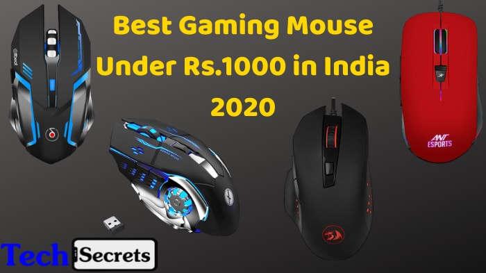 Best Gaming Mouse Under 1000 in India 2020