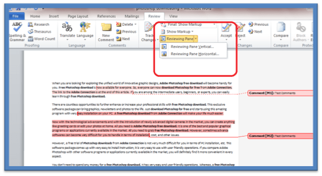 How to Add Comments to Word 2010 Documents | Information Technology | Latest on Apple Microsoft Social Media & Web