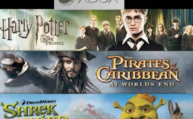 Four New Xbox 360 Game Titles Based On Upcoming Movies