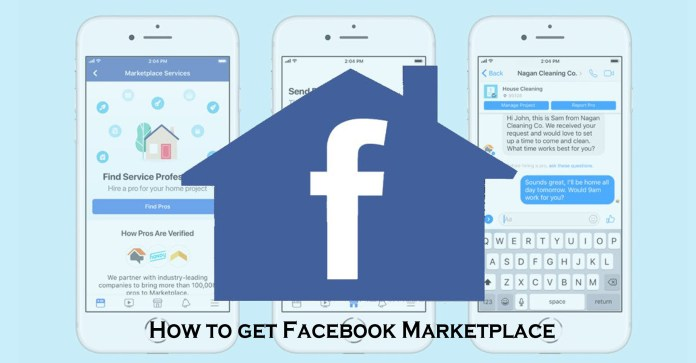 How to get Facebook Marketplace
