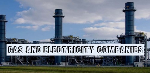 Gas and Electricity Companies
