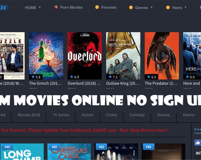 Stream Movies Online No Sign Up Free