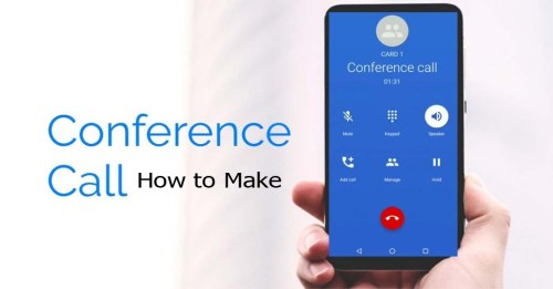 Conference Call How to Make