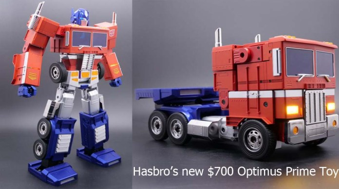 Hasbro's new $700 Optimus Prime Toy Can Now Transform All on Its Own